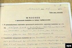 Фрагмент записки госбезопасности о вербовке Леха Валенсы