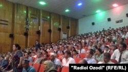 Намоиши филм дар Қӯрғонтеппа
