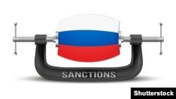 Батыстың Ресейге салған санкциясы жайлы көрнекі сурет.