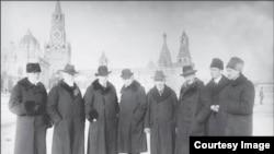Группа немецких врачей, лечивших Ленина в 1923-24 годах.