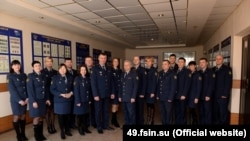 Сотрудники уголовно-исполнительной инспекции Магаданской области