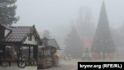 Туман в Керчи, архивное фото