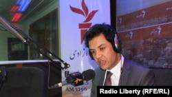فریدون خوزون سخنگوی شورای عالی مصالحه ملی افغانستان