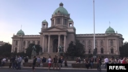 Протест во Белград, 12.07.2020.