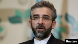 علی باقری، رئیس ستاد انتخاباتی سعید جلیلی، میگوید که «روحیه سازش» حسن روحانی باعث شده است تا برخی کشورها ایران را به جنگ تهدید کنند