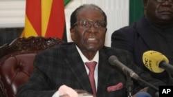 Presidenti i Zimbabvesë, Robert Mugabe.