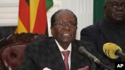 Президент Зімбабве Роберт Мугабе, 19 листопада 2017 року