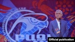 Հայաստանի նախկին նախագահ Սերժ Սարգսյանը, արխիվային լուսանկար