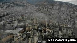 Pamje nga provinca Idlib në Siri.