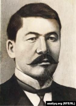 """""""Қазақ"""" газетінің басты ұйымдастырушысы, қамқоршысы әрі негізгі авторы Әлихан Бөкейханұлы."""