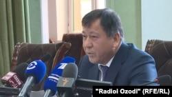 Рамазон Раҳимзода, вазири умури дохилии Тоҷикистон