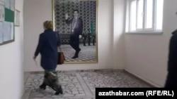 Госучреждение в Ашхабаде (Иллюстративное фото)