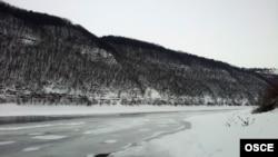 Река Днестр с украинской стороны