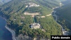 """Так называемый """"Дворец Путина"""" близ города Геленджик (архивное фото)"""