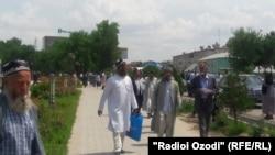 Tajikistan -- Imams in Qurghonteppa city, 4May2016