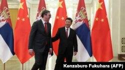 Predsednik Srbije Aleksandar Vučić i kineski predsednik Si Đinping