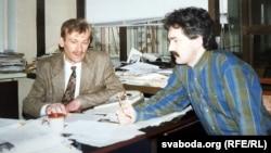Ігар Гермянчук і Сяргей Астраўцоў