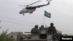 Під час антитерористичної операції біля Слов'янська, 2 травня 2014 року