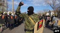 Россияпараст фаолларнинг Одессадаги намойиши, 2014 йилнинг 16 марти.