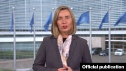 Архивска фотографија- шефицата на европската дипломатија Федерика Могерини