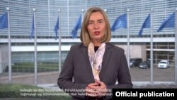 Armenia - High Representative of the European Union for Foreign Affairs and Security Policy/Vice-President of the European Commission Federica Mogherini 9March, 2018