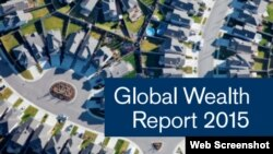 Credit Suisse Global Wealth Report 2015 Cover