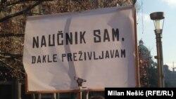 Protest naučnika u Beogradu