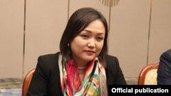 Аида Касымалиева.