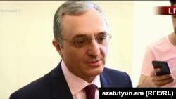 Министр иностранных дел Армении Зограб Мнацаканян, Ереван, 25 мая 2018 г.