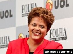 Dilma Rousseff, 2010.