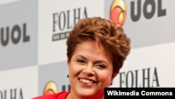 Presidentja e Brayilit Dilma Rusef