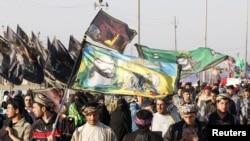 Праздник Арбаин в иракском городе Кербела
