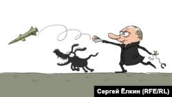 (Cartoon by Sergei Elkin)