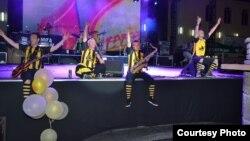 Босанскиот бенд Дубиоза Колектив настапи на минатогодишниот Пиво фест во Прилеп.