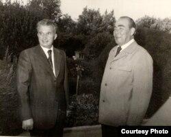 Leonid Brejnev și Nicolae Ceaușescu (Foto: Fototeca online a comunismului românesc)