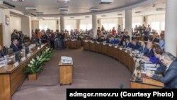 Заседание Горсовета Нижнего Новгорода