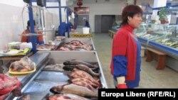 Piaţa de peşte din Tiraspol