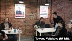 Обыск в штабе Алексея Навального в Санкт-Петербурге, 3 октбря 2017