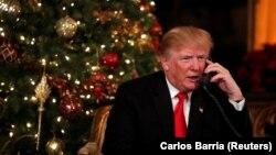 Дональд Трамп, 24 декабря 2017 года