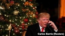 Дональд Трамп. 24 декабря 2017 года.
