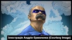 Сучасний портрет Тараса Шевченка, робота художника Андрія Єрмоленка