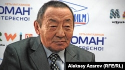 Актер Ерболат Тогузаков. Алматы, 28 декабря 2012 года.