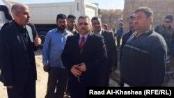 عددٌ من أعضاء مجلس محافظة الانبار يتفقدون منطقة البو عيثة