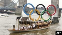 London na dan otvaranja Olimpijskih igara, 27. srpanj 2012.
