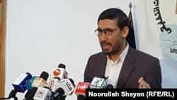 محمد قاسم الیاسی سخنگوی و منشی کمیسیون شکایات انتخاباتی افغانستان