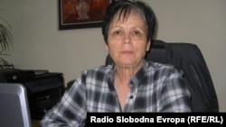"""Нада Ивановска, директорка на Народната библиотека """"Тане Георгиевски"""" во Куманово."""