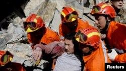 Tërmet në Kinë (Foto nga arkivi)