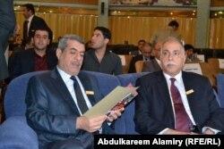 الدكتور خلف عبد الصمد والدكتور صالح اسماعيل نجم