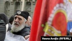 Protest veterana na Dan državnosti