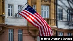 Государственный флаг США. Иллюстративное фото.